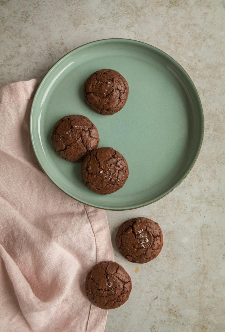 Galletas de chocolate y trigo sarraceno