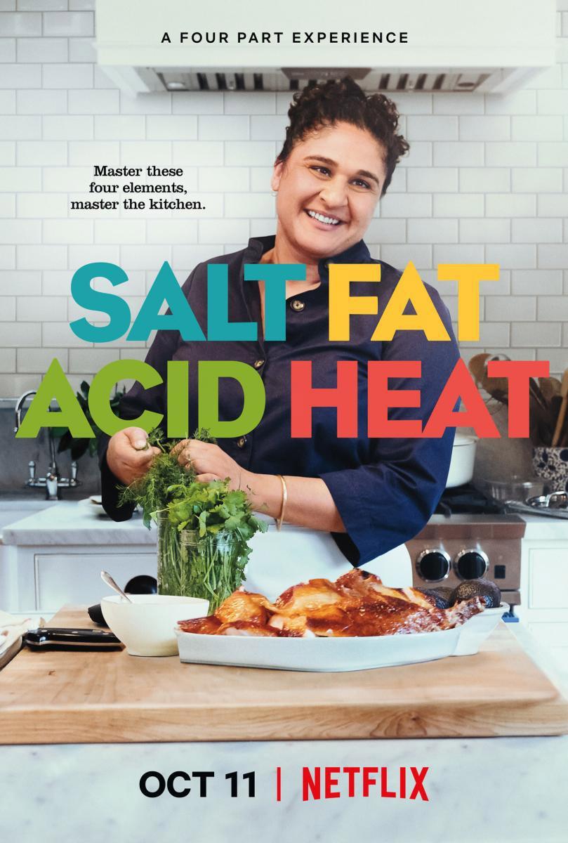 Sal, grasa, ácido y calor
