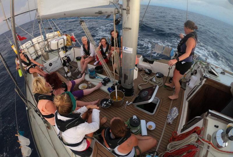 Proyecto eXXpedition: mi travesía estudiando los microplásticos en el océano