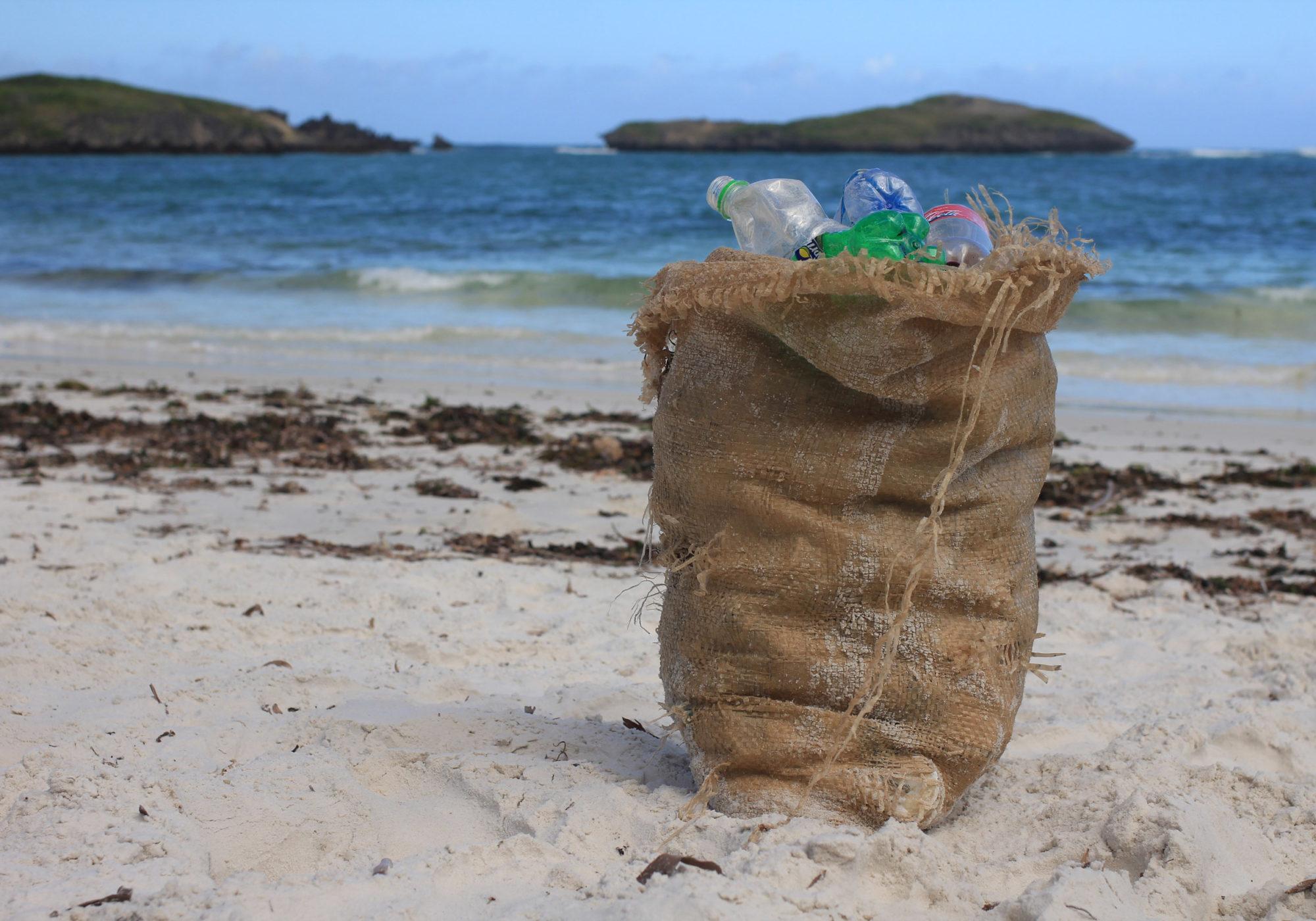 James Wakibia y su lucha contra el plástico.