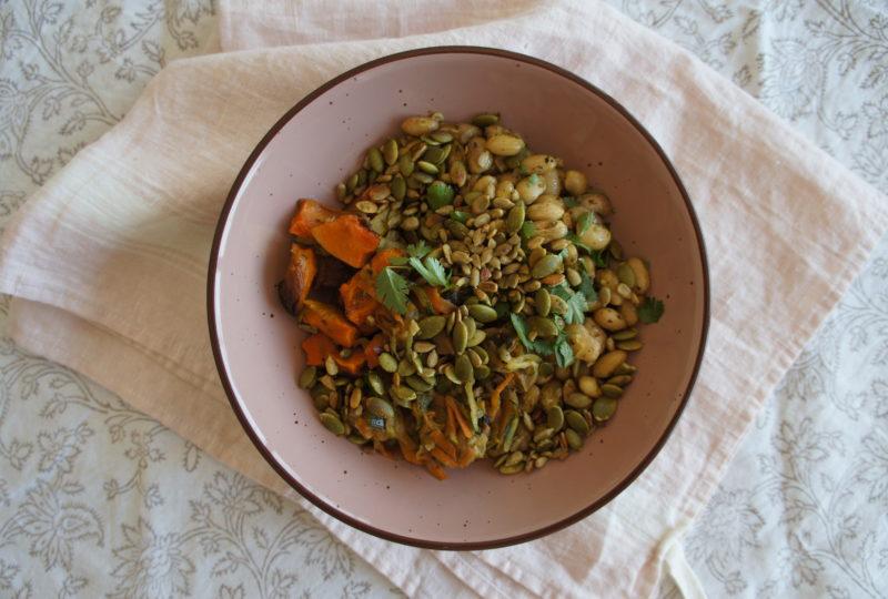 Verduras horneadas (batch cooking)