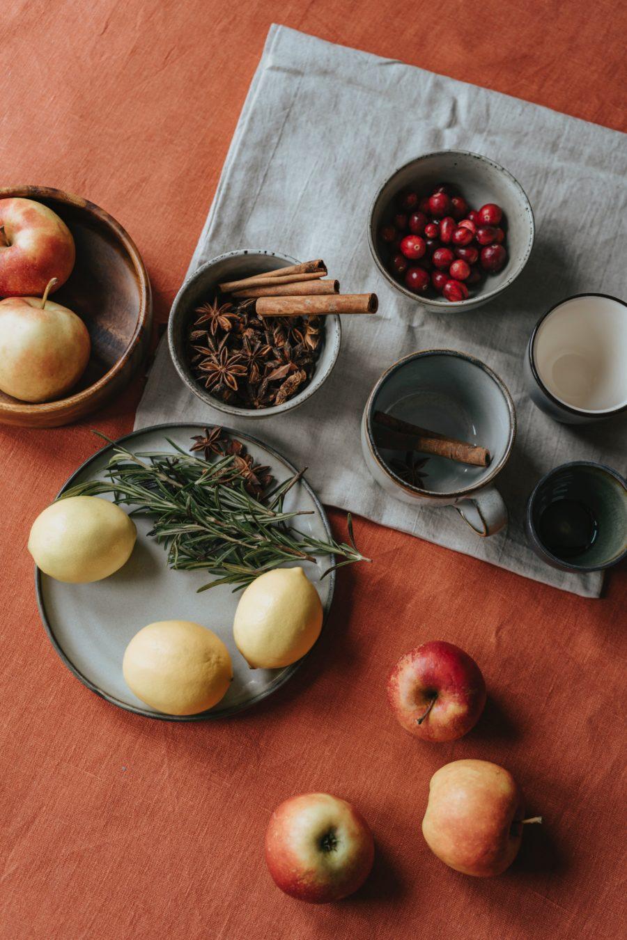 Manzanas rellenas al horno