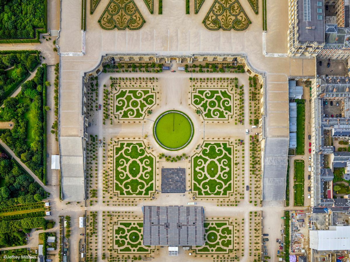 Jardines de Versalles, por Jeffrey Milstein
